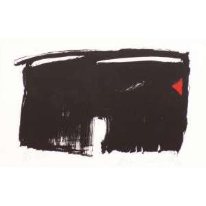 Amílcar de Castro<br>Sem título - litografia 5/13 <br> 1993 -27 x 42