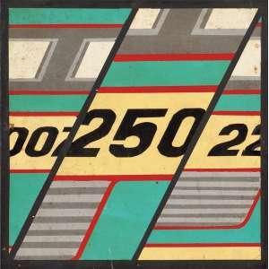 Raymundo Colares<br>Sequência 007 250 22 - tinta automotiva sobre placa <br> 1968 -30 x 30<br>Ex coleção do artista mineiro José Narciso Soares (Narciso) e primo do artista Colares.