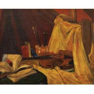 Dakir Parreiras<br>Estudo - ost <br> 1916 -50 x 62