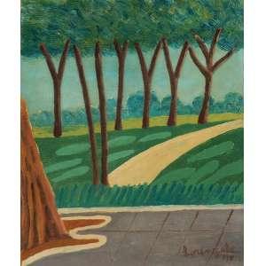 Lorenzato<br>Paisagem - ostsc <br> 1975 -40 x 33