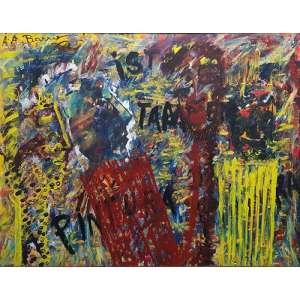 Arthur Barrio<br>Isto tambem é pintura - ost <br> 80 x 120