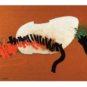 Manabu Mabe<br>Sem título - tapeçaria <br> 175 x 198