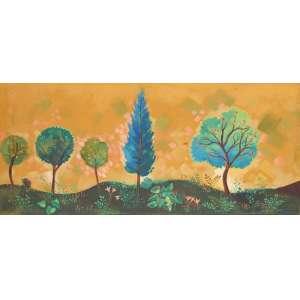 Yara Tupynambá - Paisagem - ost. 1995 - 80 x 178.