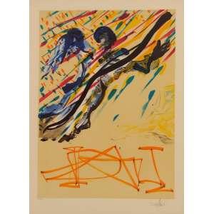 Salvador Dali - The transfiguration - litografia LIV/CCL. 1973 - 65 x 48.