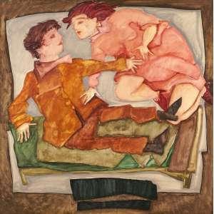 Lucia Marques - Casal - astse - 1989 - 120 x 120