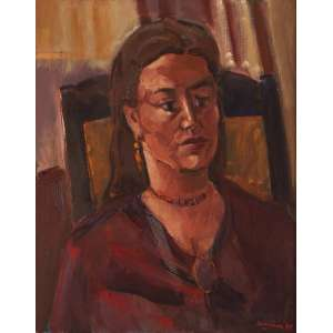 Emeric Marcier - Retrato - ost - 1985 - 73 x 60