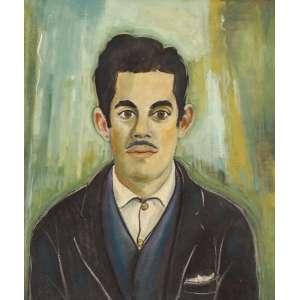 Alberto da Veiga Guignard - Retrato de Chanina - ost - 1955 - 55 x 47