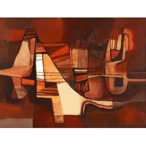 Roberto Burle Marx - Sem título - ost - 1982 - 112 x 147 - Reproduzida no catálogo Soraia Cals escritório de arte