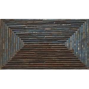 Marcos Coelho Benjamim - Sem título - zinco e madeira - 20 x 33 x 9