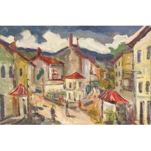 Tadashi Kaminagai - Fachadas ost - 1951 55 x 81