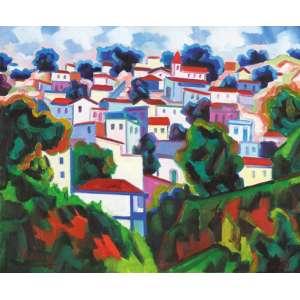 Inimá de Paula - Paisagem suburbana ost - 1991 55 x 65