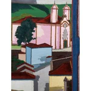 Ivan Marquetti - Igreja São Francisco de Assis ost - 1988 105 x 80