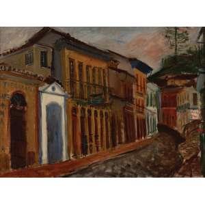 Emeric Marcier - Ouro Preto ost - 1958 53 x 72