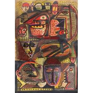 Rubens Gerchman - Sem título tm - 50 x 33
