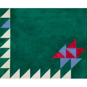 Décio Vieira - Sem título têmpera sobre tela - 38 x 46 - Certificado emitido pela família do artista.