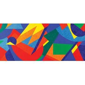 Cláudio Tozzi - Movimento ast - 2014 90 x 180 - Certificado emitido pelo artista