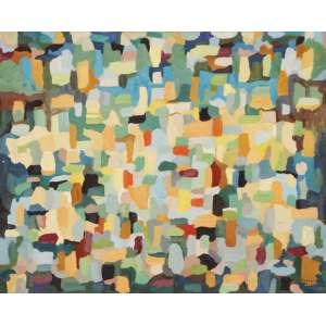 Jandyra Waters - Canyon ost - 1961 73 x 92 - Etiqueta no verso do Salão de Arte de São Bernardo do Campo Procedência: Dan Galeria