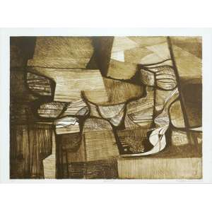 Roberto Burle Marx - Araruama serigrafia 25/25 - 1987 65 x 85