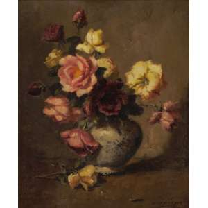 Edgar Oehlmeyer - Vaso de flores ose - 1965 60 x 50
