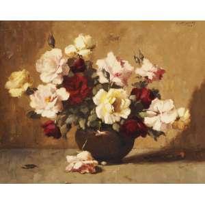 Edgar Oehlmeyer - Vaso de flores ose - 1962 65 x 80