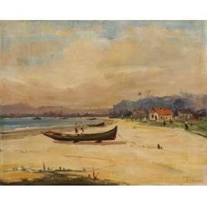 Sylvio Pinto - O barco ost - 1950 50 x 61