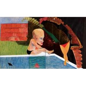 Cildo Meireles - Figuras tmsp - 1981 90 x 150