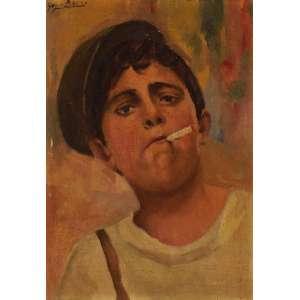 Gino Bruno - Auto retrato ost - 34 x 26