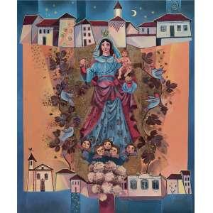 Yara Tupynambá - Nossa senhora do Carmo de Diamantina ast - 2000 120 x 100
