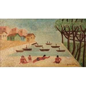 Lorenzato - Banhistas ose - 1987 40 x 70