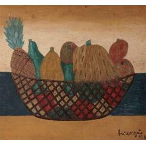 Lorenzato - Cesto de frutas ose - 1978 41 x 46
