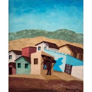 Lorenzato - Mercadinho na cabana oscse - 1976 40 x 33