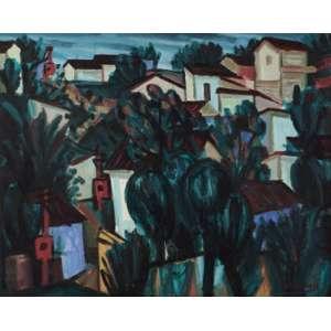 Inimá de Paula - Paisagem ose - 1964 72 x 91