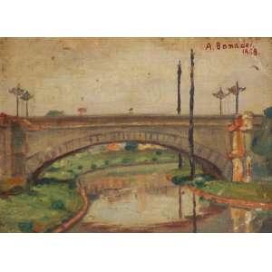Aldo Bonadei - Ponte sobre o rio Tamanduateí ostsc - 1925 20 x 26