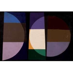 Mário Silésio - Noturno com notas brancas e amarela ost - 1960 50 x 72
