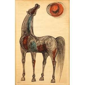 Loio Pérsio - Cavalo tm - 1958 87 x 56
