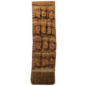 Zefa - Figuras madeira - 122 x 33 x 10