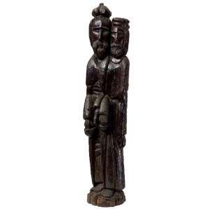 Zefa - Figuras madeira - 94 x 18 x 15