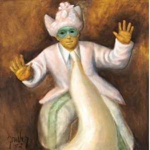 Mário Gruber - Fantasiado série: Bloco da galinha ost - 2002 65 x 65