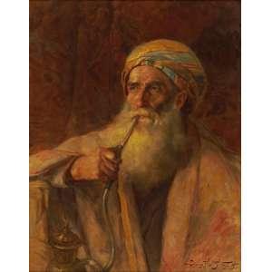 Oscar Pereira da Silva - Árabe ost - 1915 60 x 48