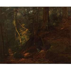 Edgar Walter - Floresta ost - 1950 81 x 100