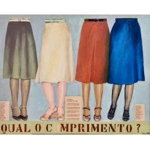 Mirele Brant - Aprenda a usar a saia ast - 2004 70 x 89
