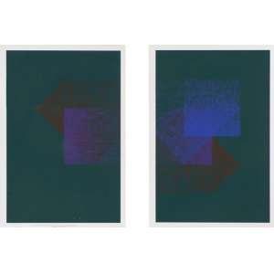 Almir Mavignier - Sem título serigrafia 57/102 - 42 x 30 cada