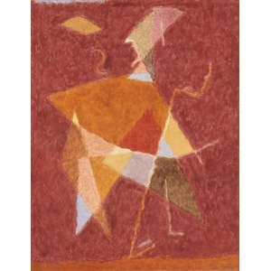 Thomaz Ianelli - Arlequim geometrizante ost - 1988 130 x 100
