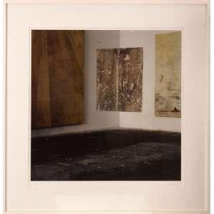 Daniel Senise - Sem título - monotipia - 2005 - 90 x 90 - Certificado emitido pela Galeria Silvia Cintra