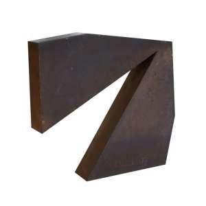 Amílcar de Castro - Sem título - aço - 43 x 41 x 8