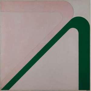 IVAN SERPA<br>Série Mangueira no. 3. Ost, 122 x 122 cm. Assinado, titulado e situado Rio, 1969 no verso.Ex-coleção Andréa Sigaud.
