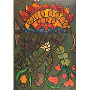 FRANCISCO BRENNAND<br />Amazônia. Ost, 200 x 140 cm. Assinado no cid. No verso titulado, assinado, <br />localizado Recife e datado de 11-6-1968.