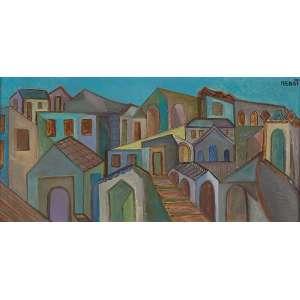 RENOT <br />Casas de Catú. Ost, 60 x 30 cm. Assinado no csd e datado de 76.