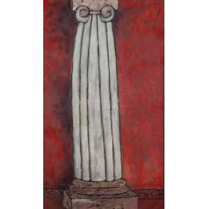 BEATRIZ MILHAZES<br />A vênus morreu de amor. Ost, 175 x 104 cm. Assinado, intitulado e datado de dezembro/83 no verso.<br />Certificado e catalogado pela artista para figurar no próximo livro.