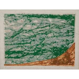 Sanson Flexor / Izar do Amaral Barlink<br />Que dê os puros rios... e só sabão. Gravura em metal, 30 x 40 cm. Assinado no cie.